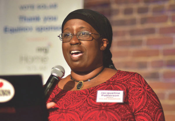 Jacqui Patterson leads the NAACP's environmental justice efforts.