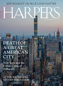 July 2018 Harper's cover